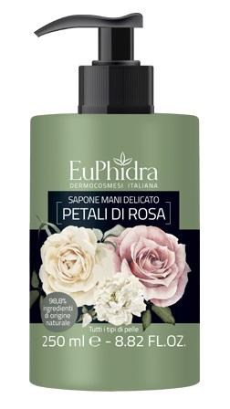 EUPHIDRA SAPONE LIQUIDO MANI PETALI DI ROSA 250 ML - FARMAPRIME