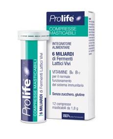 PROLIFE COMPRESSE MASTICABILI INTEGRATORE ALIMENTARE IN TUBETTO CON ASTUCCIO - Farmaciasvoshop.it