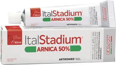 ITALSTADIUM ARTROMED GEL ARNICA 50% 100 ML - Farmacia Giotti
