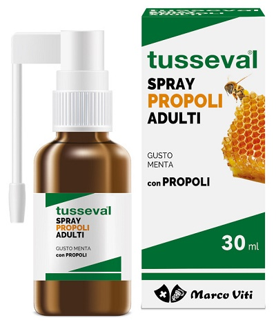 TUSSEVAL GOLA PROPOLI SPRAY PER ADULTI 30 ML - La farmacia digitale
