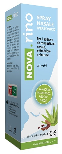 NOVA RINO SPRAY NASALE IPERTONICO 30 ML - La farmacia digitale
