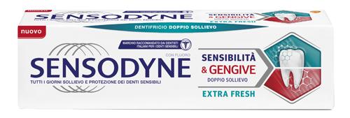SENSODYNE REPAIR & PROTECT EXTRA FRESH PASTA DENTIFRICIA AD AZIONE DESENSIBILIZZANTE - Farmajoy