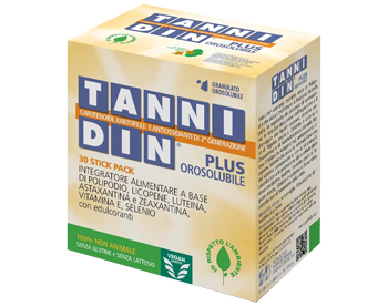 TANNIDIN PLUS 30 STICK PACK OROSOLUBILI - Farmajoy