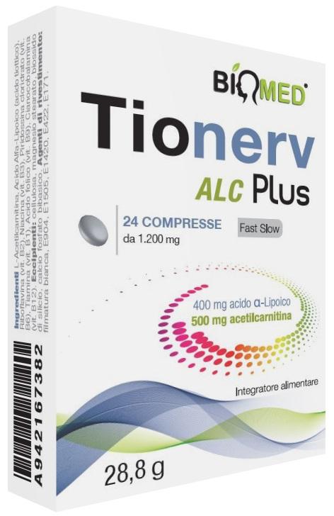 TIONERV ALC PLUS 24 COMPRESSE - Farmaseller
