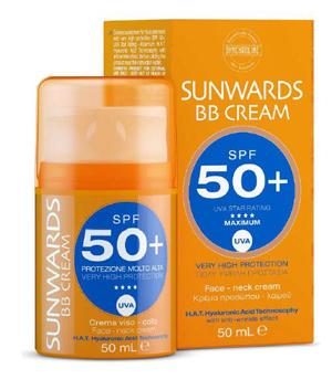 SUNWARDS BB FACE CREAM SPF 50+ 50 ML - Farmaseller