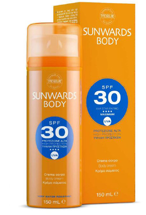 SUNWARDS BODY CREAM SPF 30 150 ML