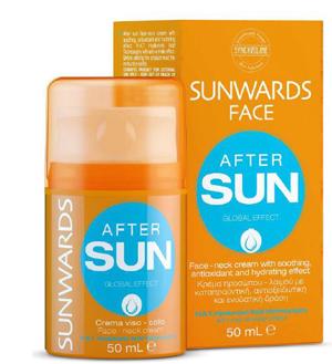SUNWARDS AFTER SUN FACE CREAM 50 ML