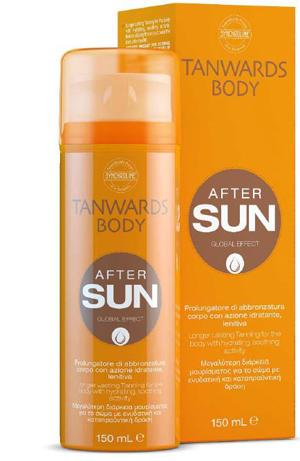 TANWARDS AFTER SUN BODY CREAM 150 ML - Farmaseller