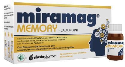 MIRAMAG MEMORY 10 FLACONCINI MONODOSE CON TAPPO DOSATORE 10 ML - Farmaseller