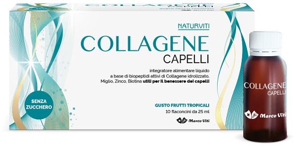 NATURVITI COLLAGENE CAPELLI 10 FIALOIDI 25 ML - farmaciadeglispeziali.it