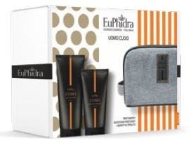 EUPH UOMO CUOIO BEAUTY DOCCIA SHAMPOO ANTIBATTERICO 200 ML +BALSAMO DOPOBARBA 100 ML + 1 BEAUTY - Farmaci.me