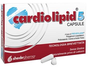 CARDIOLIPID 5 30 CAPSULE - Spacefarma.it