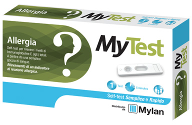 TEST ALLERGIA MYTEST KIT 1 PEZZO - Farmalandia