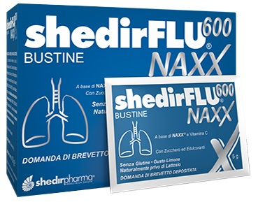 SHEDIRFLU 600 NAXX 20 BUSTINE - Sempredisponibile.it