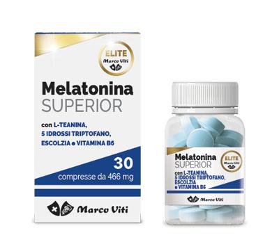 MELATONINA SUPERIOR 30 COMPRESSE - Farmacia Bartoli