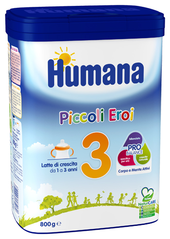 HUMANA 3 800 G NATCARE MP - Carafarmacia.it