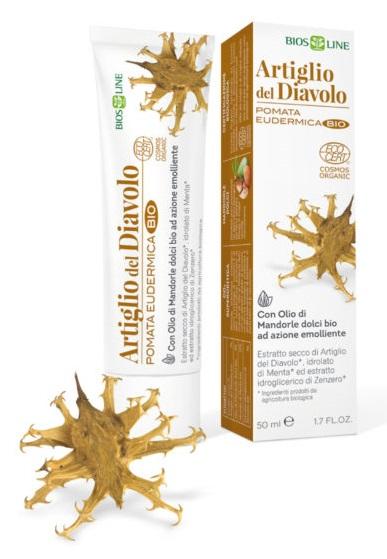 POMATA ARTIGLIO DIAVOLO BIO 50ML - latuafarmaciaonline.it