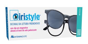 OCCHIALE DA LETTURA PREMONTATO IRISTYLE SUNNY MOON +1,00 CON CLIP ON MAGNETICO DOTATO DI LENTI DA SOLE POLARIZZATE 1 PAIO - Farmaciapacini.it