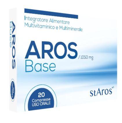 AROS BASE 20 COMPRESSE - Farmaseller