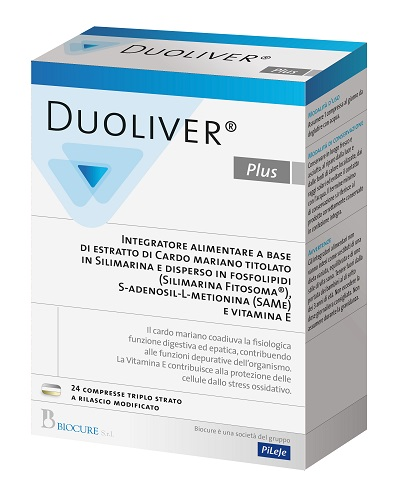DUOLIVER PLUS 24 COMPRESSE - FARMAEMPORIO