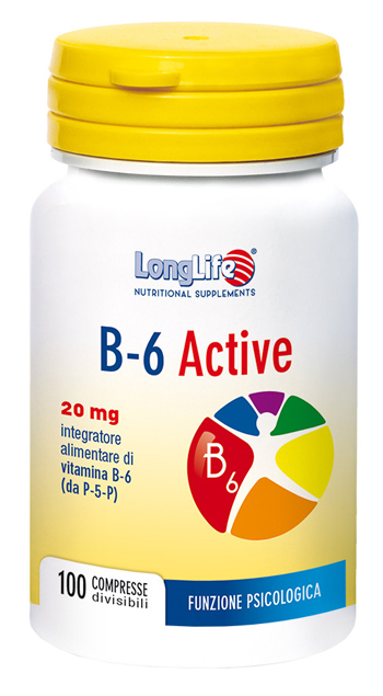 LONGLIFE B6 ACTIVE 20MG 100 COMPRESSE - Sempredisponibile.it