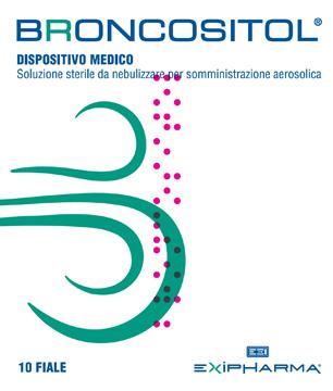 BRONCOSITOL SOLUZIONE STERILE DA NEBULIZZARE PER SOMMINISTRAZIONE AEROSOLICA 10 FIALE 3 ML - Farmapage.it