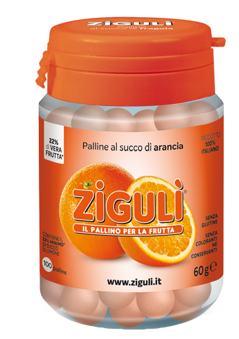 ZIGULI ARANCIA 100 PALLINE 60 G - La farmacia digitale