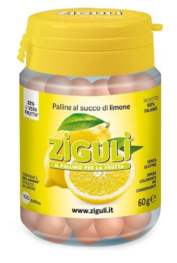 ZIGULI LIMONE 100 PALLINE 60 G - Farmapage.it