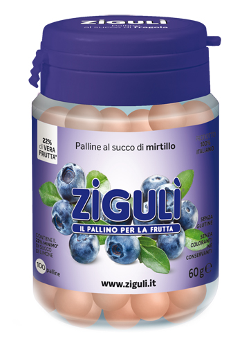 ZIGULI MIRTILLO 100 PALLINE 60 G - Farmapage.it