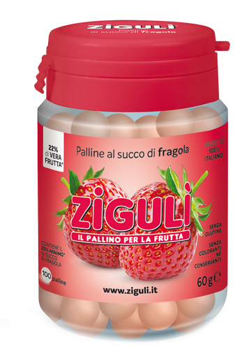 ZIGULI FRAGOLA 100 PALLINE 60 G - Farmapage.it