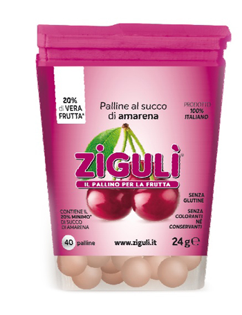 ZIGULI AMARENA 40 PALLINE 24 G - Farmapage.it