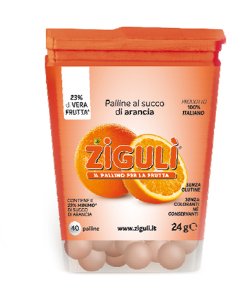 ZIGULI ARANCIA 40 PALLINE 24 G - Farmapage.it
