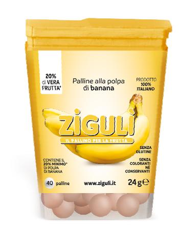 ZIGULI BANANA 40 PALLINE 24 G - Farmacielo