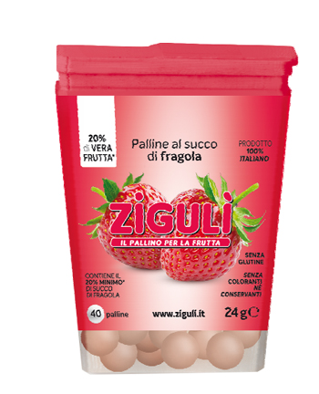 ZIGULI FRAGOLA 40 PALLINE 24 G - Farmapage.it