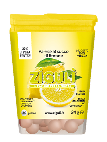 ZIGULI LIMONE 40 PALLINE 24 G - Farmapage.it