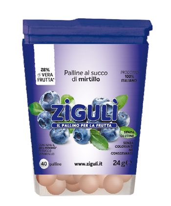 ZIGULI MIRTILLO 40 PALLINE 24 G - Farmapage.it