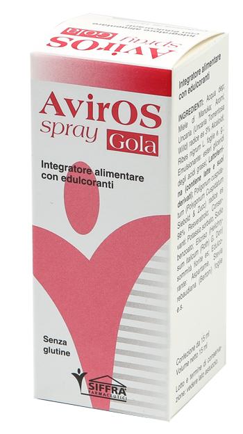 AVIROS SPRAY GOLA 15 ML - Farmaseller