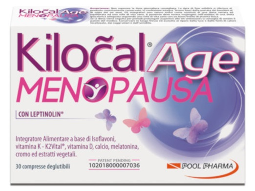 KILOCAL AGE MENOPAUSA 30 COMPRESSE - Parafarmacia Tranchina