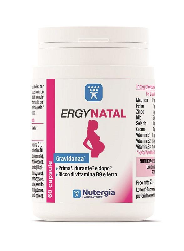 ERGYNATAL 60 CAPSULE - Farmafamily.it