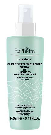 EUPHIDRA ANTICELLULITE OLIO SNELLENTE 145 ML - Farmabros.it