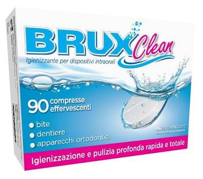 BRUX CLEAN 90 COMPRESSE EFFERVESCENTI - farmaventura.it