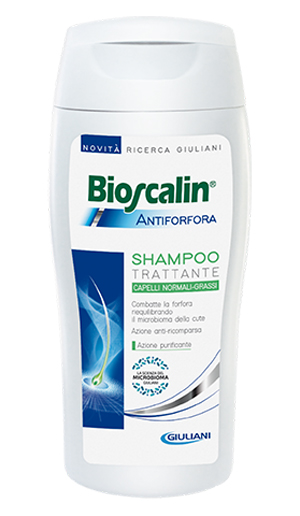 BIOSCALIN SHAMPOO ANTIFORFORA CAPELLI NORMALI-GRASSI 200ML - Farmastop