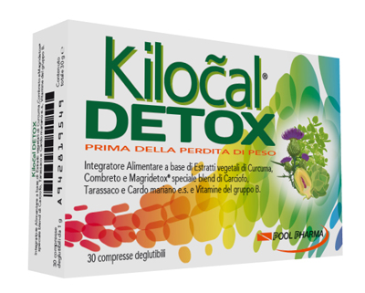 KILOCAL DETOX 30 COMPRESSE - FarmaHub.it
