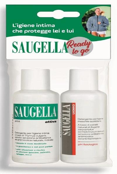 SAUGELLA BANDED CON SAUGELLA ATTIVA 50 ML + SAUGELLA UOMO 50 ML - Farmapage.it