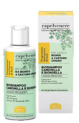 CAPELVENERE BIOSHAMPOO CAMOMILLA E BIONDELLA 200 ML - Farmaseller