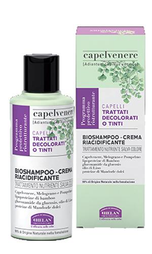 CAPELVENERE BIOSHAMPOO CREMA RIACIDIFICANTE 200 ML - Farmaedo.it