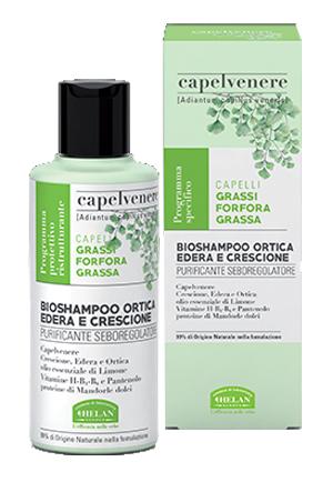 CAPELVENERE BIOSHAMPOO ORTICA EDERA E CRESCIONE 200 ML - Farmaseller