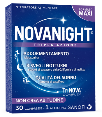 NOVANIGHT 30 COMPRESSE - latuafarmaciaonline.it