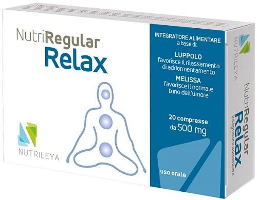 NUTRIREGULAR RELAX 20 COMPRESSE - Farmastar.it