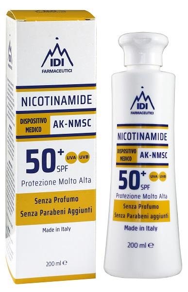 NICOTINAMIDE AK-NMSC 50+SPF PROTEZIONE MOLTO ALTA 200 ML - FARMAEMPORIO